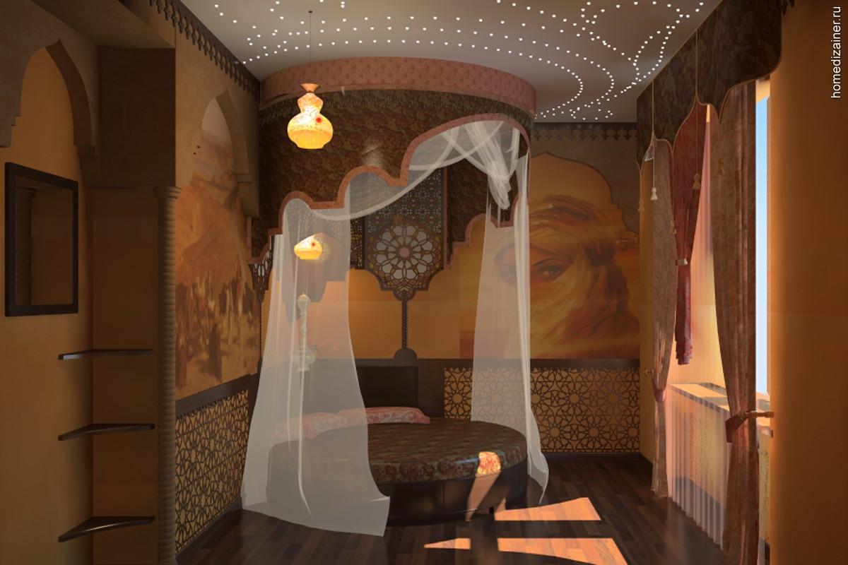 Восточная спальня фото