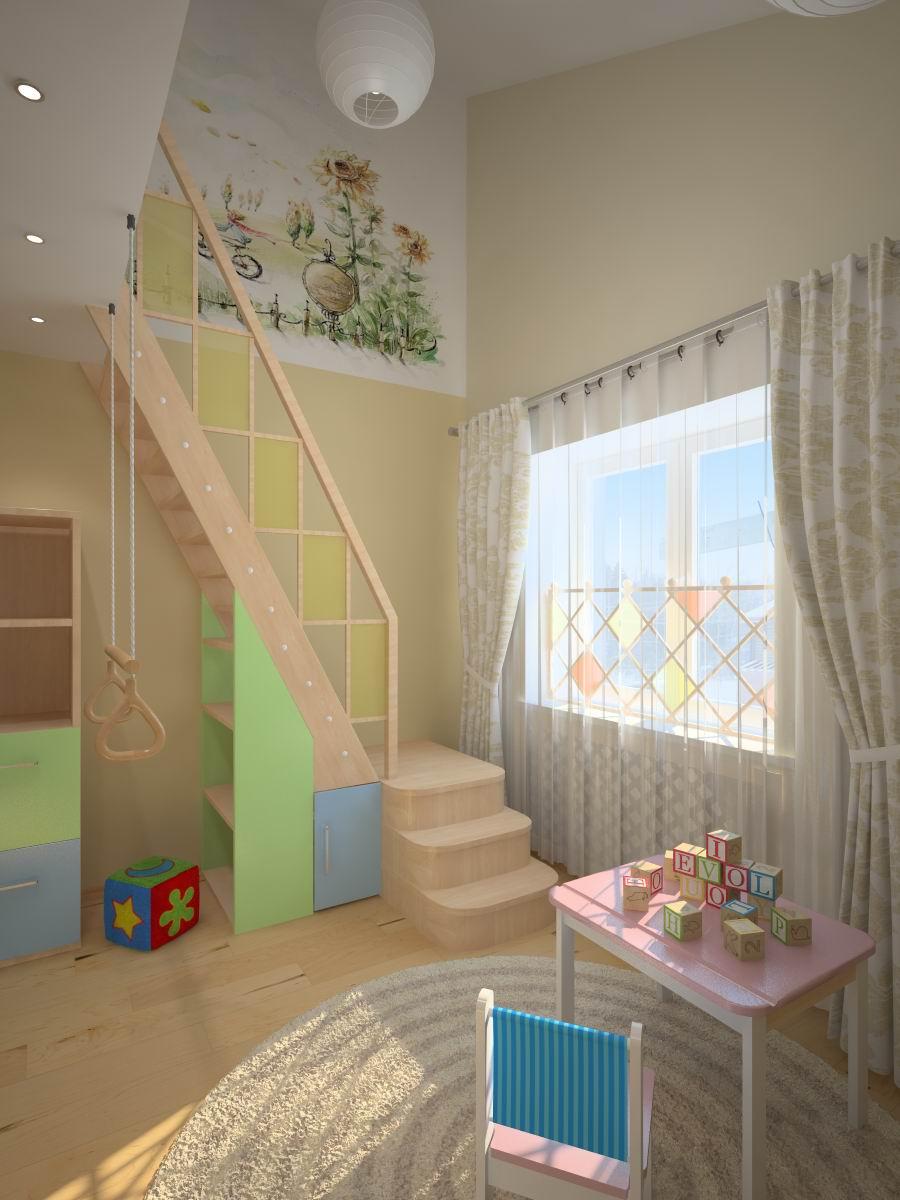 Детской комнаты для девочки домик для