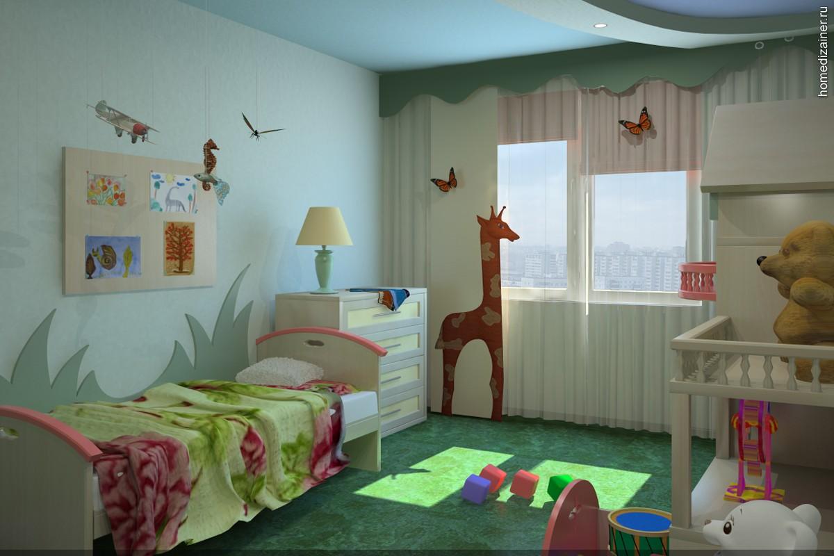 Дизайн детской комнаты для мальчика 3 года