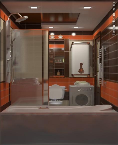 Потолок в ванной ниша в ванной