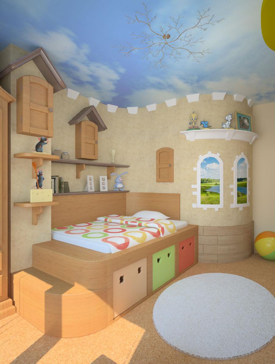 Дизайн детской комнаты дизайн детской