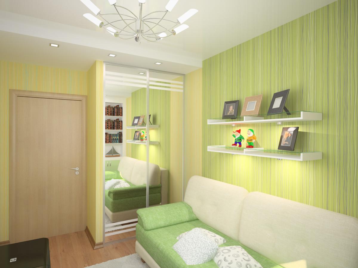 Интерьера маленькой детской комнаты