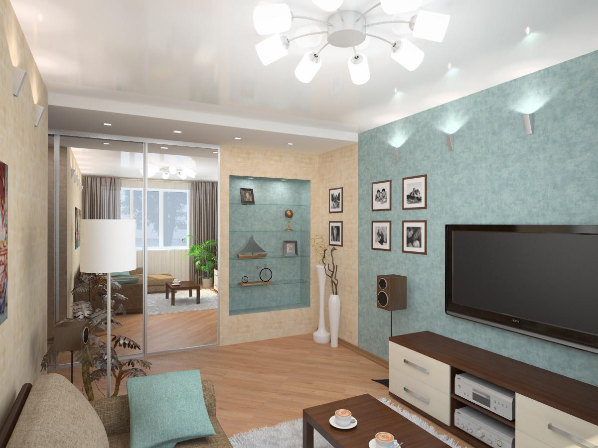 Дизайн и ремонт маленькой квартиры фото